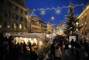 Impressionen vom Weihnachtsmarkt in Willisau. (Bild: LZ Archiv (Wilisau, 8. Dezember 2012))