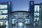 Das Hotel Seedamm Plaza. (Bild pd)