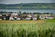 Die Initiativen Luzerner Kulturlandschaft möchten der Ausdehnung von Siedlungsflächen und dem Verlust von Kulturland entgegenwirken. (Bild: Pius Amrein (Nottwil, 19. Juni 2013))