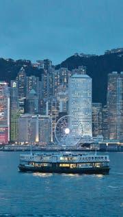 Hauptattraktion in Hongkong: der Blick über den Victoria-Hafen auf die Innenstadt. (Bild: Kin Cheung/AP (20. Juni 2017))