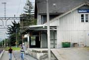 Der Bahnhof Malters. (Bild Pius Amrein/Neue LZ)