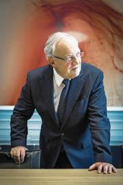 Bundesrat Johann Schneider-Ammann, aufgenommen im Bundeshaus. (Bild: Chris Iseli (Bern, 16. Dezember 2016))