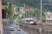 Die Strecke Emmenbrücke–Luzern ist die am Schnellsten wachsende Bahnverbindung des VVL. (Bild: PD)