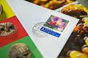 «6000 Luzern» – diesen Stempel gibts am Postschalter nur noch auf Wunsch. (Neue LZ/Dominik Wunderli) Fotografiert am 20.05.2016 Themenbilder Briefe Post Briefmarke (Bild: Dominik Wunderli (Neue LZ) (Neue Luzerner Zeitung))