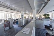 Die Räume im L&G-Gebäude werden derzeit noch von der Siemens benutzt. (Bild Christian H. Hildebrand)