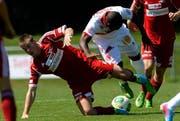 Dem FC Sursee gelang beinahe die Sensation. (Bild: Keystone)