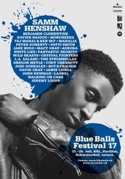 Samm Henshaw ist das Blue Balls Face 2017. (Bild: PD)
