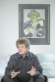 Wolfgang Welsch hat die dunkle Seite der DDR am eigenen Leib erfahren. (Bild: Pius Amrein (Meggen, 14. März 2018))