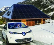 Plus-Energiebau Sieber in Sörenberg. (Bild: PD / Solarpreis 2015)