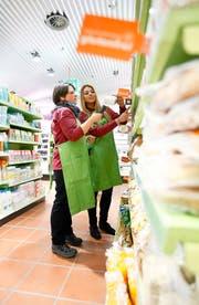 Rund 4000 Bio-Artikel: Die Migros Luzern eröffnete 2013 den Bio-Supermarkt Alnatura im Einkaufszentrum Metalli in Zug. (Bild Stefan Kaiser)