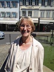 Stadtführerin Anita Gamma: «Das Haus wurde als Lateinschule gebaut.» (Bild: PD)