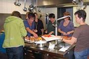 Auch Catering gehört zum Haushaltservice der Urner Bäuerinnen. (Bild: pd)