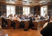 Der Nidwaldner Landrat – hier in einer Aufnahme von Juli 2011 – erhält am 22. September ein neues Wahlsystem. (Bild Corinne Glanzmann)