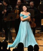 Cecilia Bartoli liess sich von der Begeisterungsfähigkeit des Luzerner Publikums sichtlich berühren. (Bild: Lucerne Festival/Peter Fischli)