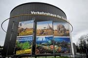 Das Verkehrshaus der Schweiz in Luzern. (Bild: Corinne Glanzmann (Luzern, 7. Februar 2014))