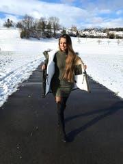 Die Baarerin Tamy ist die wohl meistbetrachtete Zuger Influencerin. (Bild: www.instagram.com/morethanyoucantake)