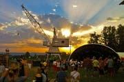 Stimmungsfoto vom Waldstock Openair Spektakel. (Bild: pd)