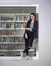 Giada Crivelli (22) studiert Jus an der Universität Luzern. (Bild: Pius Amrein (Luzern, 8. März 2017))