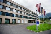 Kantonsspital in Sarnen. (Bild: Corinne Glanzmann / Neue OZ)