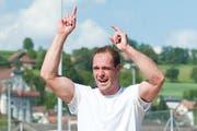 Wer tritt die Nachfolge von Fabian Marti an, Sieger des Kantonales Schwingfests 2014 in Ruswil? (Bild: Boris Bürgisser)
