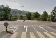 Wird während zwei Nächten gesperrt: Autobahnanschluss Gisikon-Root Richtung Luzern. (Bild Google Maps)