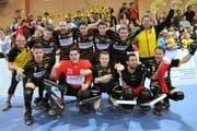 Der RHC Uri steht erstmals im Halbfinal der Schweizer Rollhockey-Meisterschaft. (Bild: Urs Hanhart / Neue UZ)