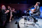 Patrick Kelly spielte am Freitag auf der Pilatus Stage. (Bild: Boris Bürgisser (13. Oktober 2017))