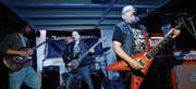 Die Band Spice River mit Frontmann Flavio Di Berardino. (Bild: Stefan Kaiser (Zug, 15. April 2017))