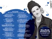 Das Plakat mit dem Blue Balls Face 2016. (Bild: pd)