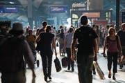 47 Prozent der Einwanderer kommen wegen der Arbeit ins Land. (Bild: Ennio Leanza/Keystone)