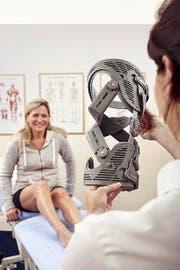 Alternative Massnahme gegen Knieschmerzen. (Bild: PD)