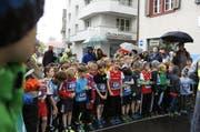 Der Nidwaldnerlauf in Stans hat am Samstag zum 20. Mal stattgefunden. (Bild: pd)