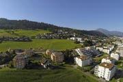 Beim kantonseigenen Grundstück «Obfildern» in Ebikon sollen 50 Prozent des Grundstückes für den gemeinnützigen Wohnungsbau reserviert werden. (Bild: René Meier (Ebikon, 4. August 2016))