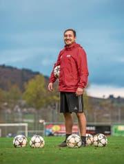 Blickt dem heutigen Cup-Hit zuversichtlich entgegen: Schötz-Spieler Claudio Zenger. (Bild: Roger Grütter (Schötz, 23. Oktober 2017))