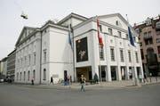 Das Luzerner Theater am heutigen Standort. (Archivbild Philipp Schmidli)