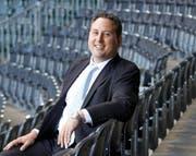 Ilja Kaenzig, hier im Stade de Suisse, wird CEO bei VfL Bochum. (Bild: Peter Klaunzer / Keystone (Bern, 9. August 2010))