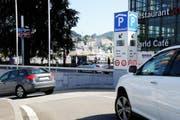 Auch im Luzerner Bahnhof-Parking kann der Bezahl-Chip angewendet werden. (Bild: pd/Gerry Ebner)