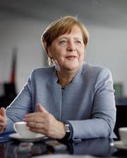 Blickt der Bundestagswahl gelassen entgegen: die deutsche Kanzlerin Angela Merkel. (Bild: Thomas Köhler/Getty (Berlin, 26. April 2017))