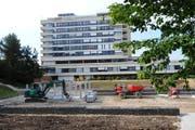 Die Gebäude des Wolhuser Spitals soll an den Kanton übergehen. So will es der Wolhuser Gemeinderat. (Archivbild Corinne Glanzmann/Neue LZ)
