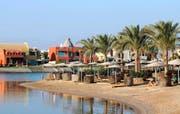 Das Steigenberger Golf Resort im ägyptischen El Gouna. Der Touristenort an einem zehn Kilometer langen Küstenabschnitt am Roten Meer ist das Vorzeigeprojekt von Orascom Development. (Bild: Getty/Dana Smillie)