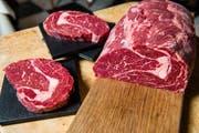Der Dieb hatte in Triengen über 15kg Rindfleisch gestohlen. (Symbolbild: Archiv LZ)