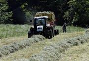 Rund zwanzig Jungbauern schliessen im Kanton Zug jährlich ihre Ausbildung am Schluechthof ab. (Symbolbild Werner Schelbert)