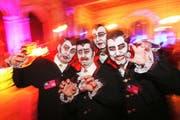 Maskenbälle sind wieder im Kommen. Hier eine Szene vom Maskenball des LFK im Jahr 2010. (Bild: Philipp Schmidli)