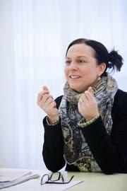 CVP-Kanotnsrätin Christine Blättler-Müller ist überzeugt, dass der Kanton eine Vorreiterrolle einnehmen soll. (Bild Stefan Kaiser)