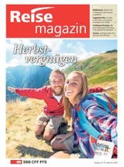 Titelblatt des SBB-Reisemagazins vom 17. September 2016. (Bild: Luzerner Zeitung)