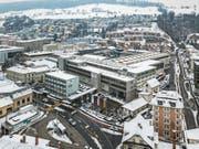 Auf dem Andritz-Areal sollen neben Wohnungen auch Gewerberäume entstehen. (Bild: Pius Amrein (Kriens, 1. März 2018))