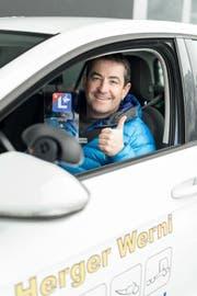 Werner Herger ist laut Fahrschülern der beste Fahrlehrer im Kanton. (Bild: PD)