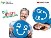 Bus und Bahn vereint seit zehn Jahren im Kanton Zug. (Bild: PD)