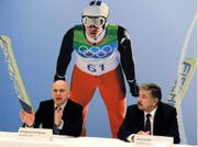 Er weibelt für die Winterspiele: Bundesrat Ueli Maurer am 24. Januar in Bern.