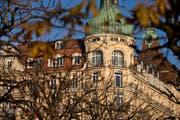 Das Hotel Palace in Luzern. (Bild: Philipp Schmidli / Neue LZ)